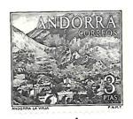 sello : Europa : Andorra : Andorra la vieja