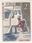 Stamps Chad -  tintorero