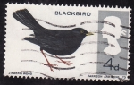 Stamps United Kingdom -  Mirlo