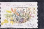 Stamps Australia -  flores-
