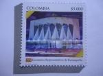 Sellos de America - Colombia -  Catedral Metropolitana-Escenarios Representativos de Barranquilla.