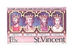 Stamps Saint Vincent and the Grenadines -  reyes de Inglaterra