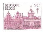 Stamps : Europe : Belgium :  palacio