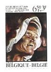 Sellos del Mundo : Europa : Bélgica : pintura de Rubens