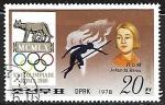 Stamps : Asia : North_Korea :  Juegos Olímpicos   Salto de Altura