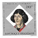 Sellos del Mundo : Africa : Rwanda : Copernico
