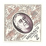 Stamps : Europe : Monaco :  Roosvelt