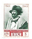 Stamps : Europe : Monaco :  Garibaldi
