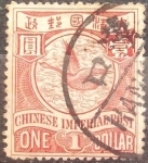 Stamps Asia - China -  CHINA-1897-Imperio Chino-1 dollar