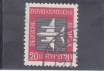 Stamps Germany -  avion