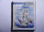 Stamps : America : Colombia :  ARC Gloria - 50 Años, 1968-2018 - Nave Escolar ARC Gloria