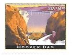 Sellos del Mundo : America : Estados_Unidos : presa Hoover