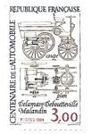 Sellos de Europa - Francia -  coche antiguo