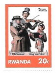 sello : Africa : Rwanda : músicos