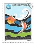 Sellos de Europa - Hungría -  peces