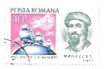Sellos de Europa - Rumania -  Magallanes
