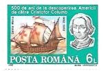 Sellos de Europa - Rumania -  Cristobal Colón
