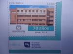 Stamps : America : Colombia :  Organización Electoral - Registraduria Nacional del Estado Civil-70 Aniversario 1948-2018