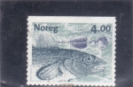 Stamps : Europe : Norway :  pez