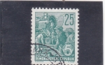 Stamps Germany -  ferroviarios
