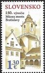 Stamps : Europe : Slovakia :  Museo de Bratislava  2018  1,30 €