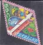 Stamps Netherlands -  Navidad