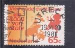 Stamps Netherlands -  mapa