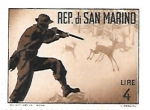 Stamps : Europe : San_Marino :  caza