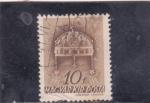 Stamps Hungary -  corona de San Esteban