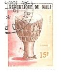 Sellos de Africa - Mali -  instrumentos musicales africanos