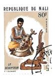 Sellos del Mundo : Africa : Mali : arte africano