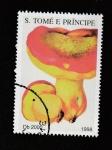 Stamps São Tomé and Príncipe -  Boletus pinicola