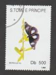 Stamps : Africa : São_Tomé_and_Príncipe :  Borboletas