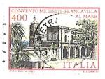 sello : Europa : Italia : arquitectura