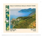 Stamps : Europe : Italy :  parque natural