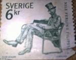Stamps Sweden -  Nils Ferlin
