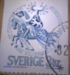 Stamps Sweden -  Duque Erik Magnusson
