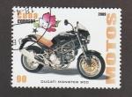 Sellos de America - Cuba -  Ducati Monster 900