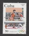Stamps : America : Cuba :  Juegos Olímpicos Los Angeles 84