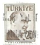 Sellos de Asia - Turquía -  Personaje