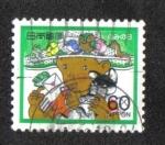 Stamps Japan -  Semana Internacional de Redacción de Cartas 1985
