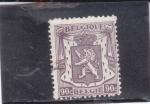 Sellos de Europa - Bélgica -   león rampante