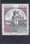 Stamps Italy -  castello di Montagnana