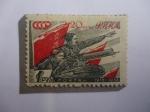 Stamps : Europe : Germany :  Alemania,Ocupación en los Años 1939-1945- Serie Lituania