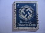 Stamps : Europe : Germany :  Alemania, Reino - Esvástica (Corona de Flores)