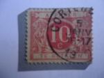 Stamps : Europe : Belgium :  Cifra - Postage Due-Cijfer - Redrawn
