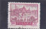 Stamps Poland -  catedral de wroclaw