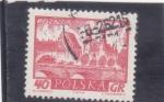 Sellos de Europa - Polonia -  panorámica Poznan