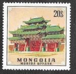 Sellos del Mundo : Asia : Mongolia :  592 - Palacio de Bogdo-Gegen