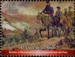 Sellos del Mundo : America : Perú : 2017 - El cruce de los Andes - Rumbo al Bicentenario de la Independencia del Perú